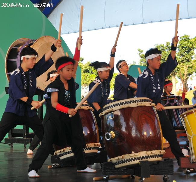 2010宜蘭童玩節~日本博多鼓隊