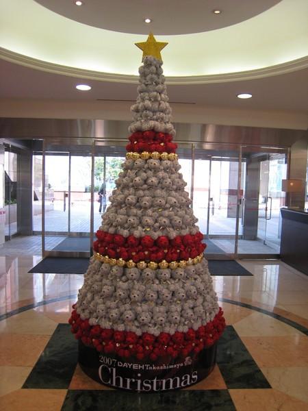 大葉高島屋聖誕樹