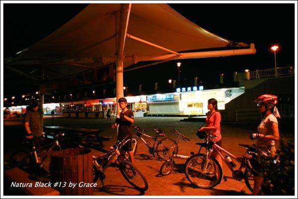 夜騎漁人碼頭
