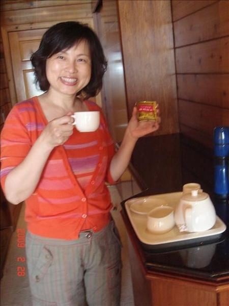 日月紅茶很好喝喔~