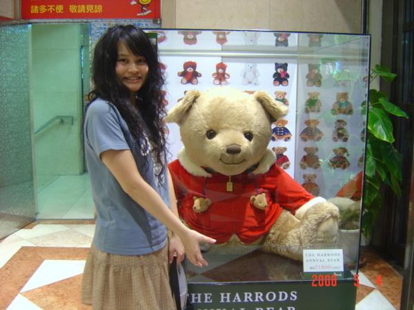 站前新光三越可愛熊熊