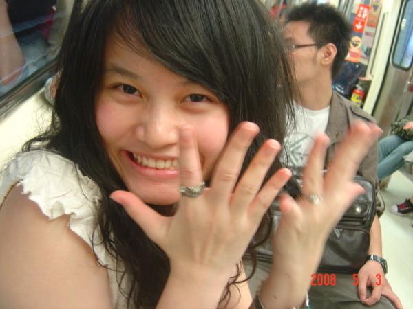 新光三越GOZO第一次買戒指