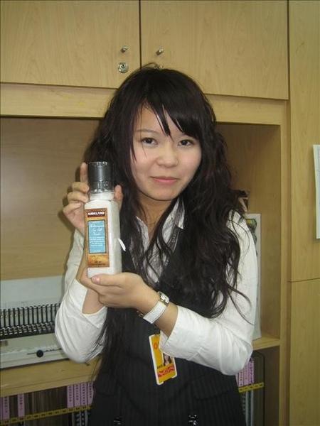 瑜君學姊拿到高級海鹽一罐