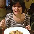 泡菜海鮮義大利麵