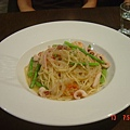 April的蘆筍海鮮義大利麵