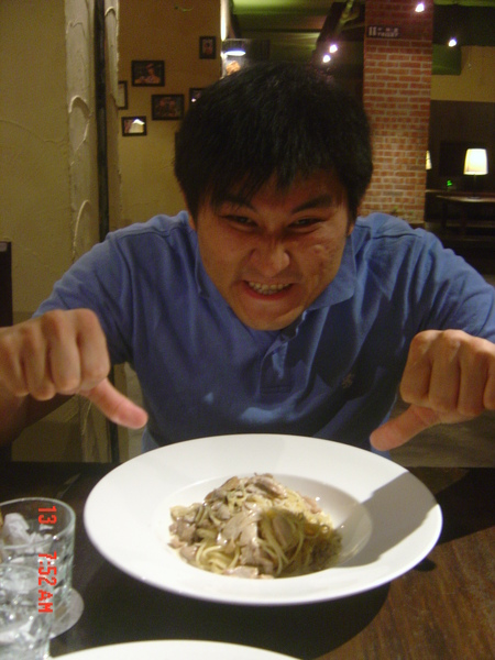 11蕈菇白醬義大利麵.JPG