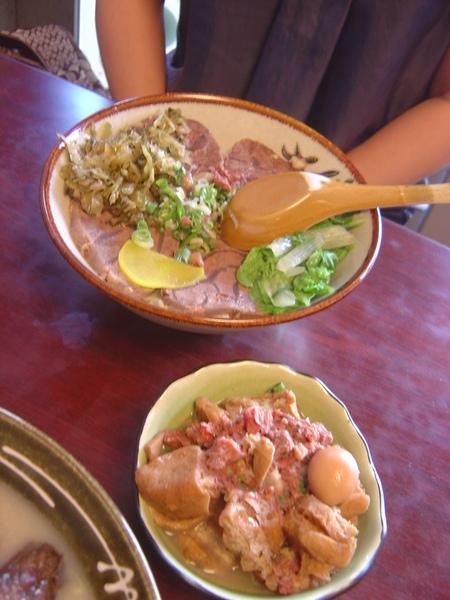牛肉飯+牛魯花干