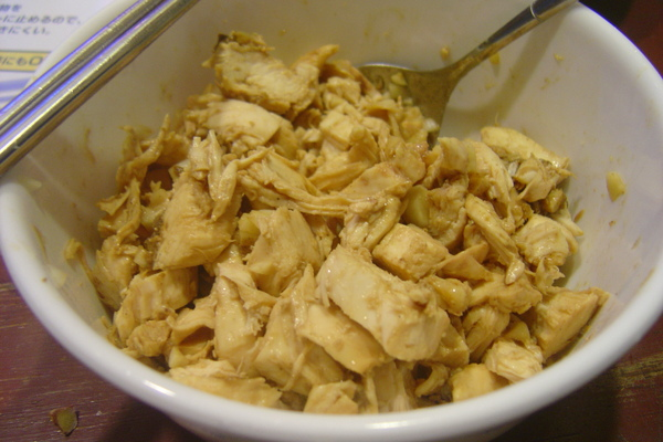 涼拌麻醬雞肉