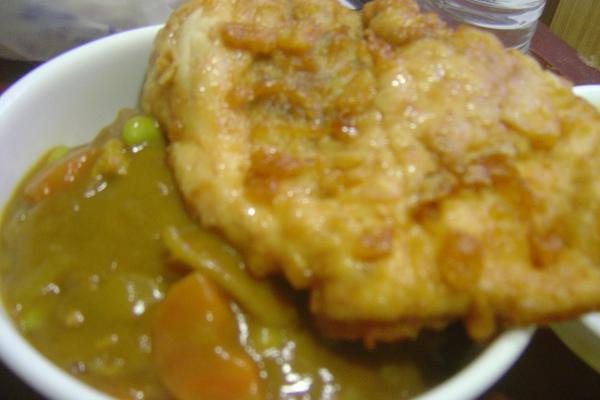 雞排珈哩飯