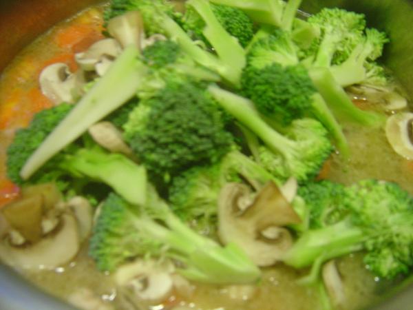 花椰菜+洋菇