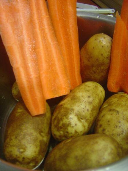 馬鈴薯+紅蘿蔔