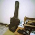 我的古典吉他,包起來了