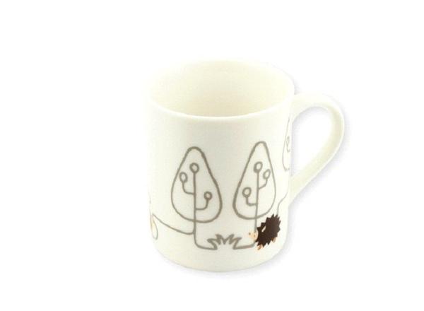 森林刺蝟咖啡杯