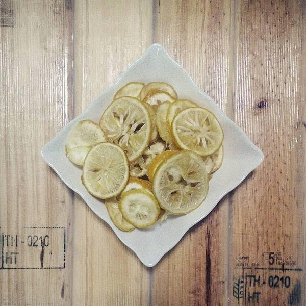 阿公的香水檸檬片