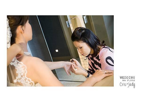 [婚攝紀錄][婚禮攝影][婚禮紀實][婚攝]感謝新人Cris+Jady水水推薦-寒舍艾美午宴-8