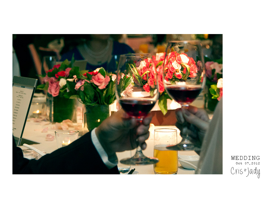 [婚攝紀錄][婚禮攝影][婚禮紀實][婚攝]感謝新人Cris+Jady水水推薦-寒舍艾美午宴