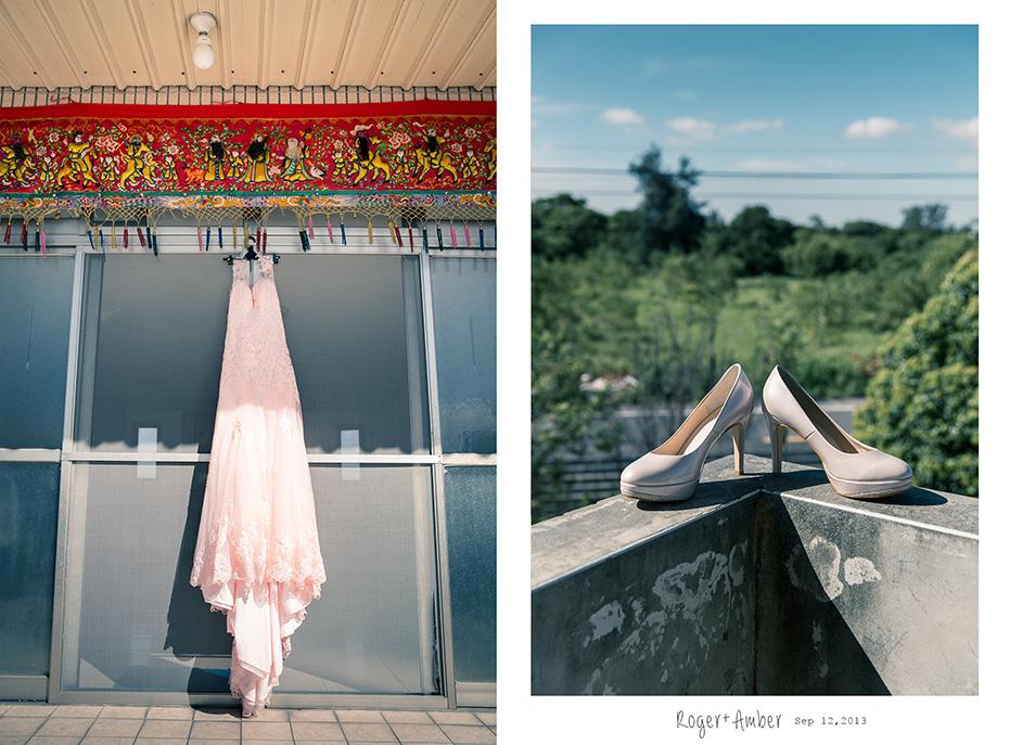 婚禮紀錄/婚禮攝影/婚攝/感謝新人Roger+Amber推薦一自家宴客一羊吃草攝影一1