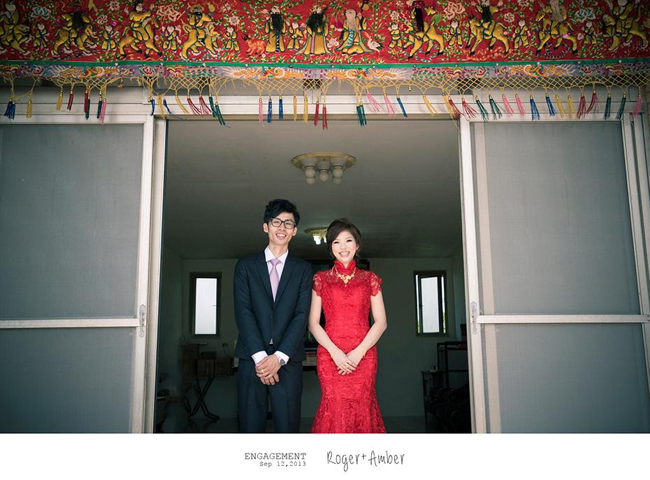 婚禮紀錄/婚禮攝影/婚攝/感謝新人Roger+Amber推薦一自家宴客一羊吃草攝影一30