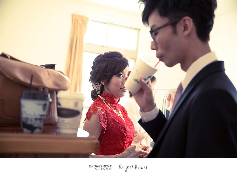 婚禮紀錄/婚禮攝影/婚攝/感謝新人Roger+Amber推薦一自家宴客一羊吃草攝影一37