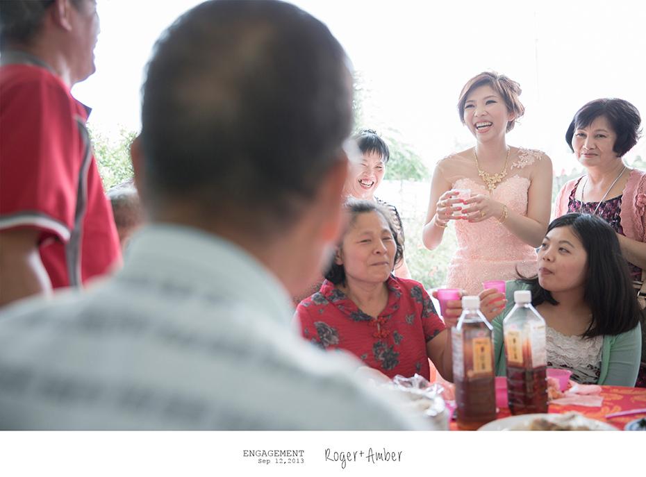 婚禮紀錄/婚禮攝影/婚攝/感謝新人Roger+Amber推薦一自家宴客一羊吃草攝影一45