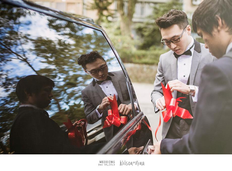 [婚禮紀錄][婚禮攝影][婚攝]感謝新人Wilson+Nina推薦-迎娶儀式篇(羊吃草攝影)-1