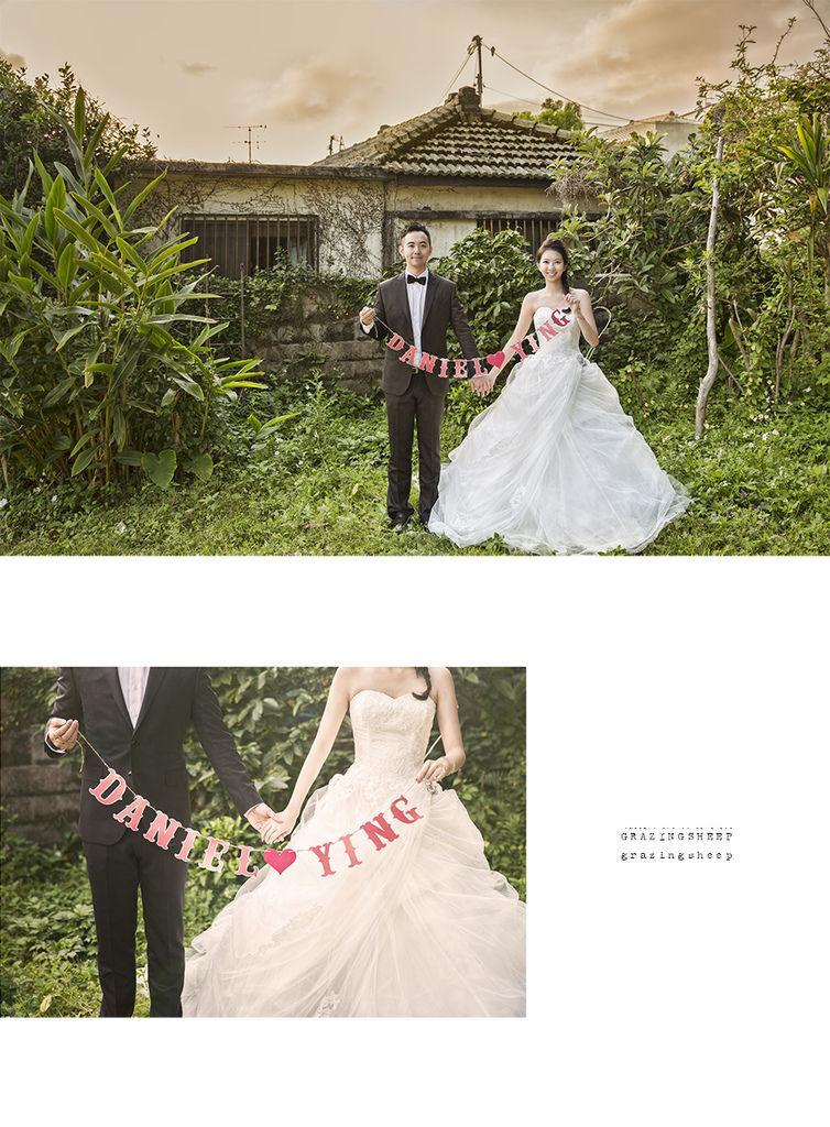 [自助婚紗][海外婚紗]感謝新人瑩瑩+凱智推薦(羊吃草攝影)-沖繩-3