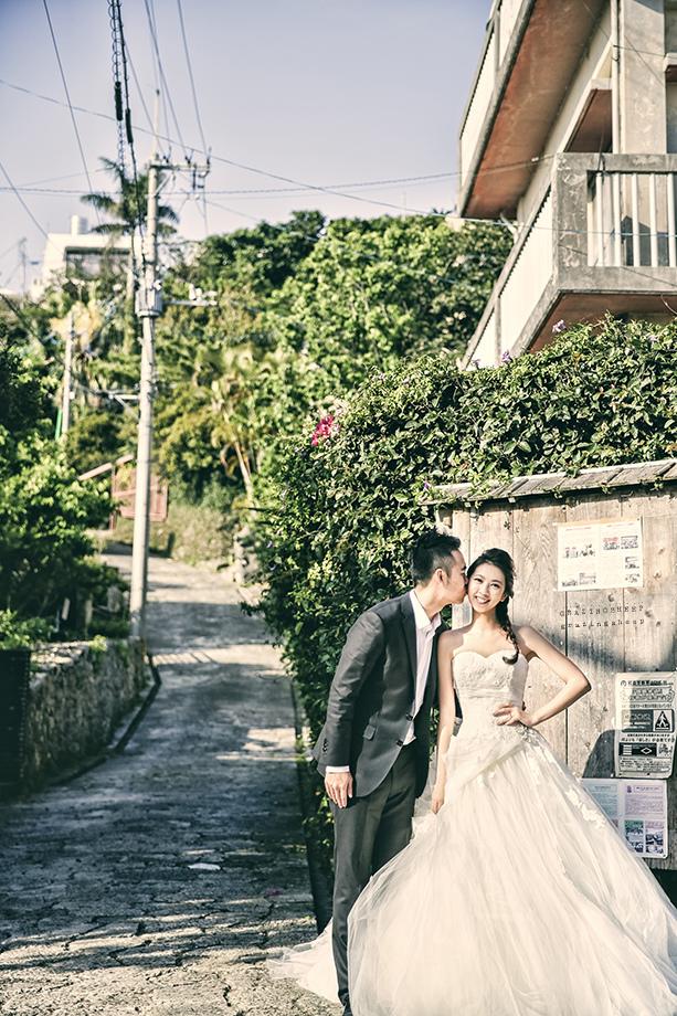[自助婚紗][海外婚紗]感謝新人瑩瑩+凱智推薦(羊吃草攝影)-沖繩-4
