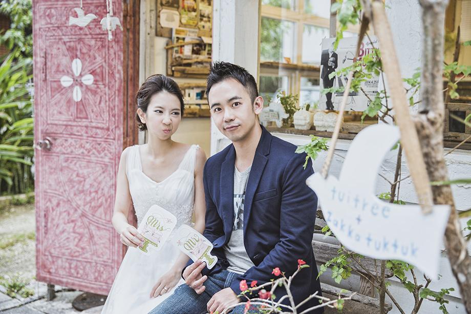 [自助婚紗][海外婚紗]感謝新人瑩瑩+凱智推薦(羊吃草攝影)-沖繩-12