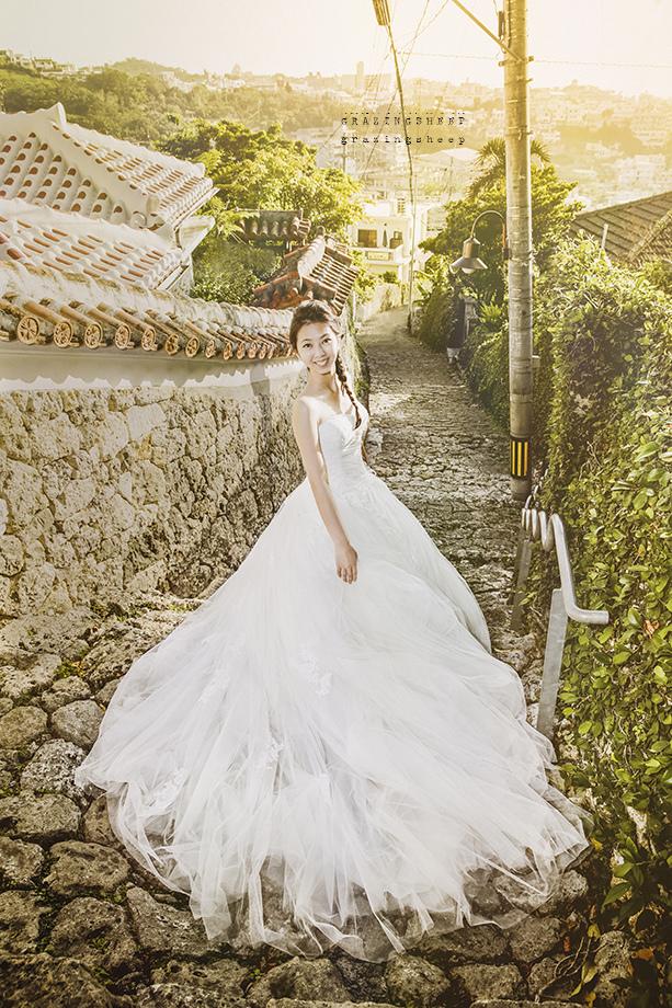 [自助婚紗][海外婚紗]感謝新人瑩瑩+凱智推薦(羊吃草攝影)-沖繩-15