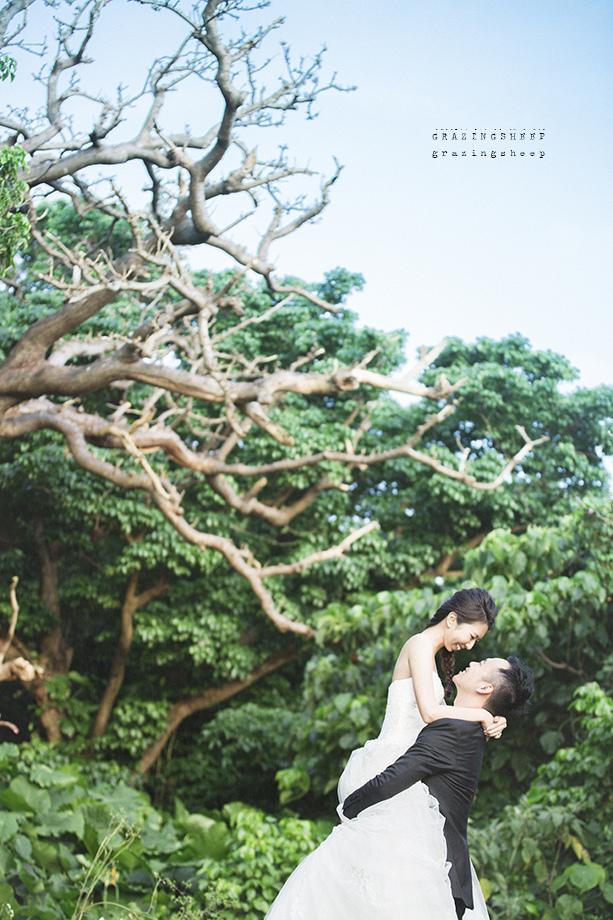 [自助婚紗][海外婚紗]感謝新人瑩瑩+凱智推薦(羊吃草攝影)-沖繩-16