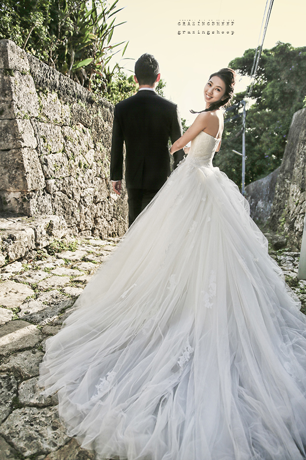 [自助婚紗][海外婚紗]感謝新人瑩瑩+凱智推薦(羊吃草攝影)-沖繩-18