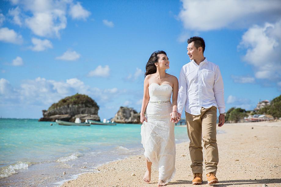 [自助婚紗][海外婚紗][日本婚紗]感謝新人麥麥+Sean推薦(羊吃草攝影)-沖繩-2