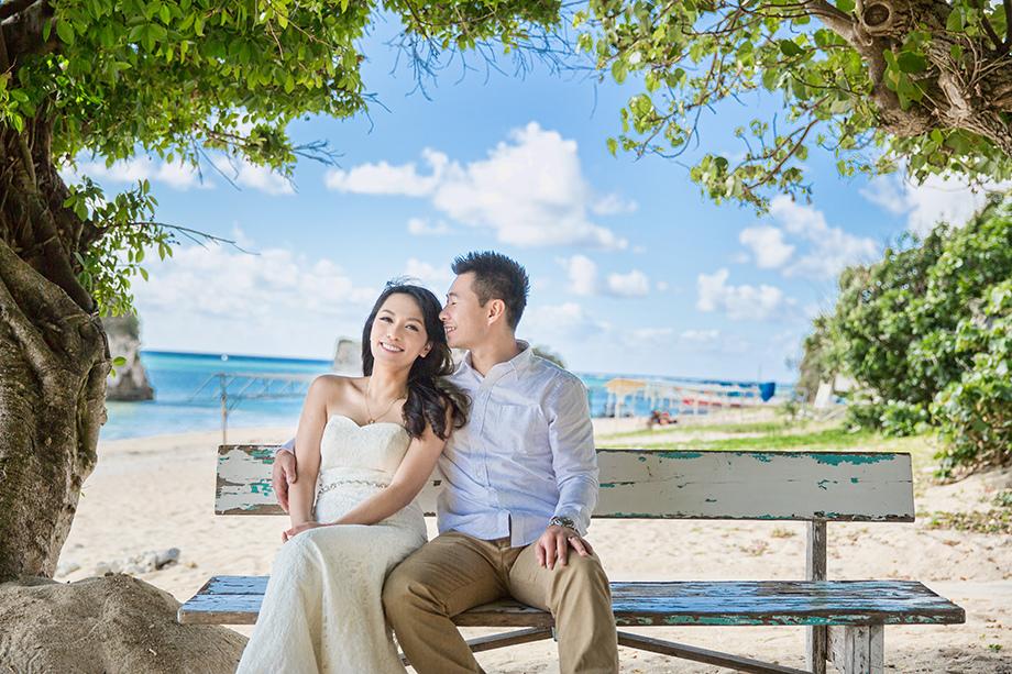 [自助婚紗][海外婚紗][日本婚紗]感謝新人麥麥+Sean推薦(羊吃草攝影)-沖繩-4