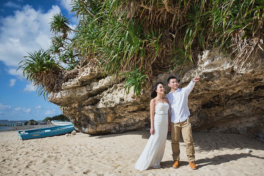 [自助婚紗][海外婚紗][日本婚紗]感謝新人麥麥+Sean推薦(羊吃草攝影)-沖繩