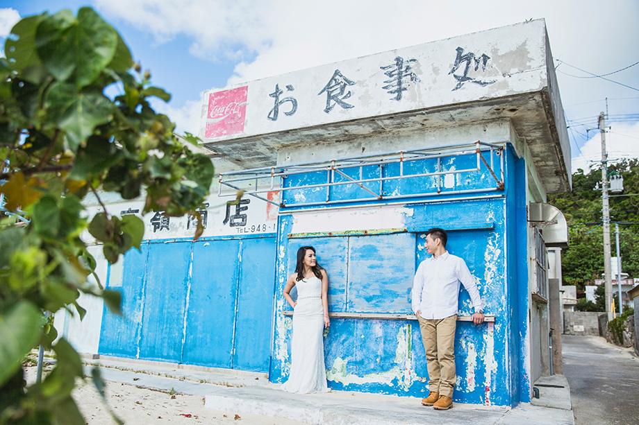 [自助婚紗][海外婚紗][日本婚紗]感謝新人麥麥+Sean推薦(羊吃草攝影)-沖繩-3