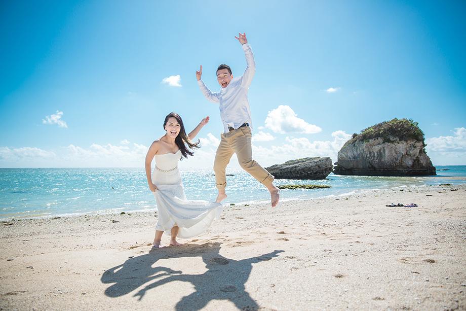 [自助婚紗][海外婚紗][日本婚紗]感謝新人麥麥+Sean推薦(羊吃草攝影)-沖繩-7