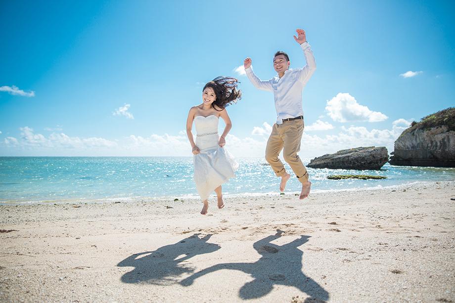 [自助婚紗][海外婚紗][日本婚紗]感謝新人麥麥+Sean推薦(羊吃草攝影)-沖繩-8