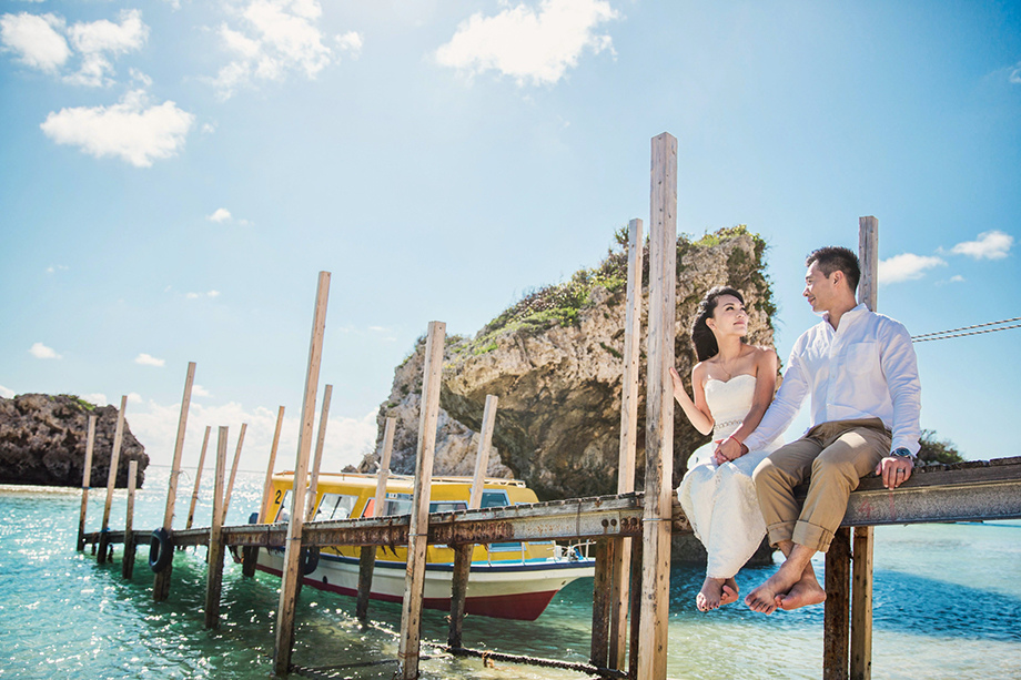 [自助婚紗][海外婚紗][日本婚紗]感謝新人麥麥+Sean推薦(羊吃草攝影)-沖繩-12