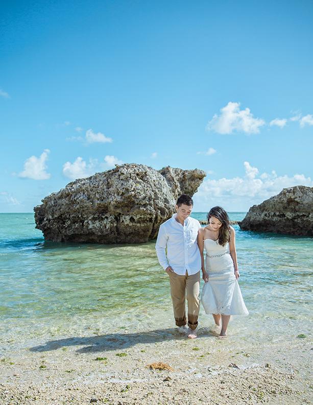 [自助婚紗][海外婚紗][日本婚紗]感謝新人麥麥+Sean推薦(羊吃草攝影)-沖繩-15