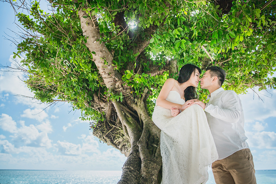 [自助婚紗][海外婚紗][日本婚紗]感謝新人麥麥+Sean推薦(羊吃草攝影)-沖繩-5