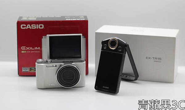 青蘋果3C - 比較 - ZR1000 TR15 自拍模式.JPG