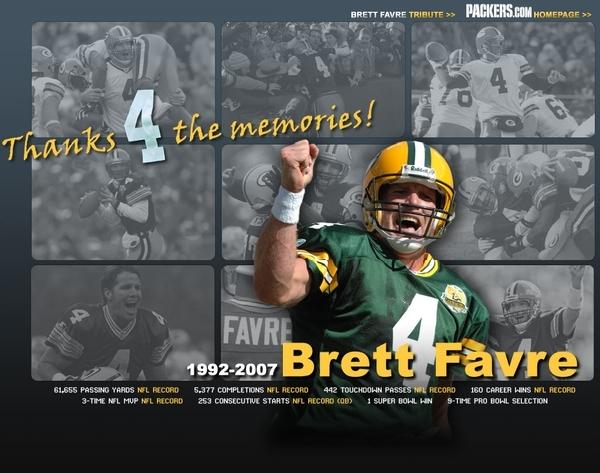 Favre's retirement