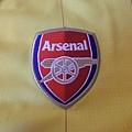 Arsenal 201011客場--隊徽.JPG