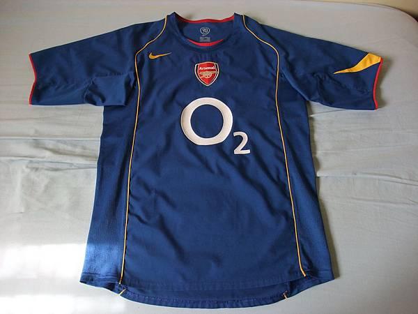 Arsenal 200405客場--正面