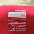 Arsenal 200608主場--Size M