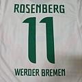 Werder Bremen 2011-12 3rd--11 Markus Rosenberg