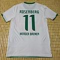 Werder Bremen 2011-12 3rd--背面
