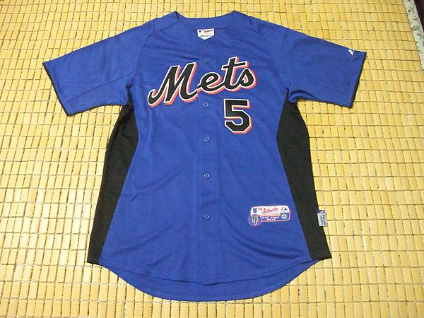 New York Mets 2011 Cool Base BP Jersey--正面