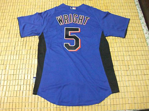 New York Mets 2011 Cool Base BP Jersey--背面