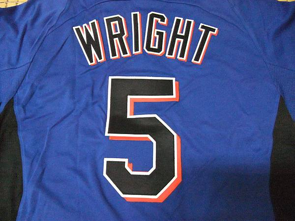 New York Mets 2011 Cool Base BP Jersey--5.David Wright
